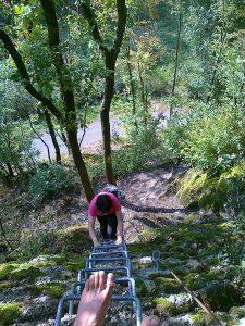 Der Klettersteig