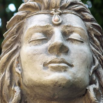Shiva meditierend