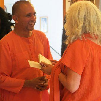 Swami Yatidharmananda Verabschiedung