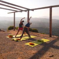 Private Yogaplattform in den Bergen, 360° Rundumsicht