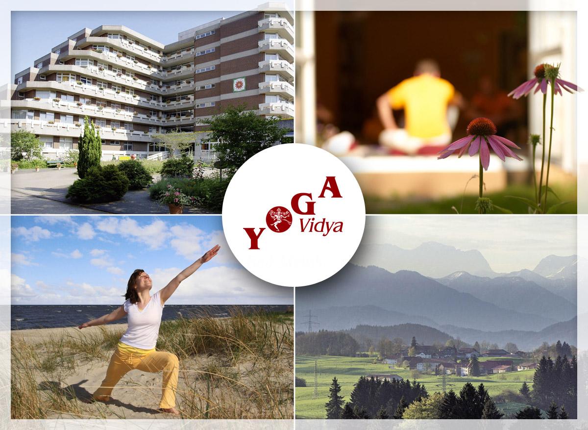 Yoga Vidya Seminarhäuser