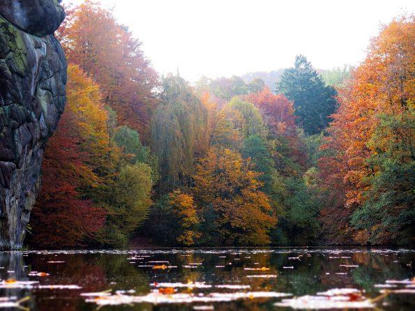 Herbst an den Externsteinen