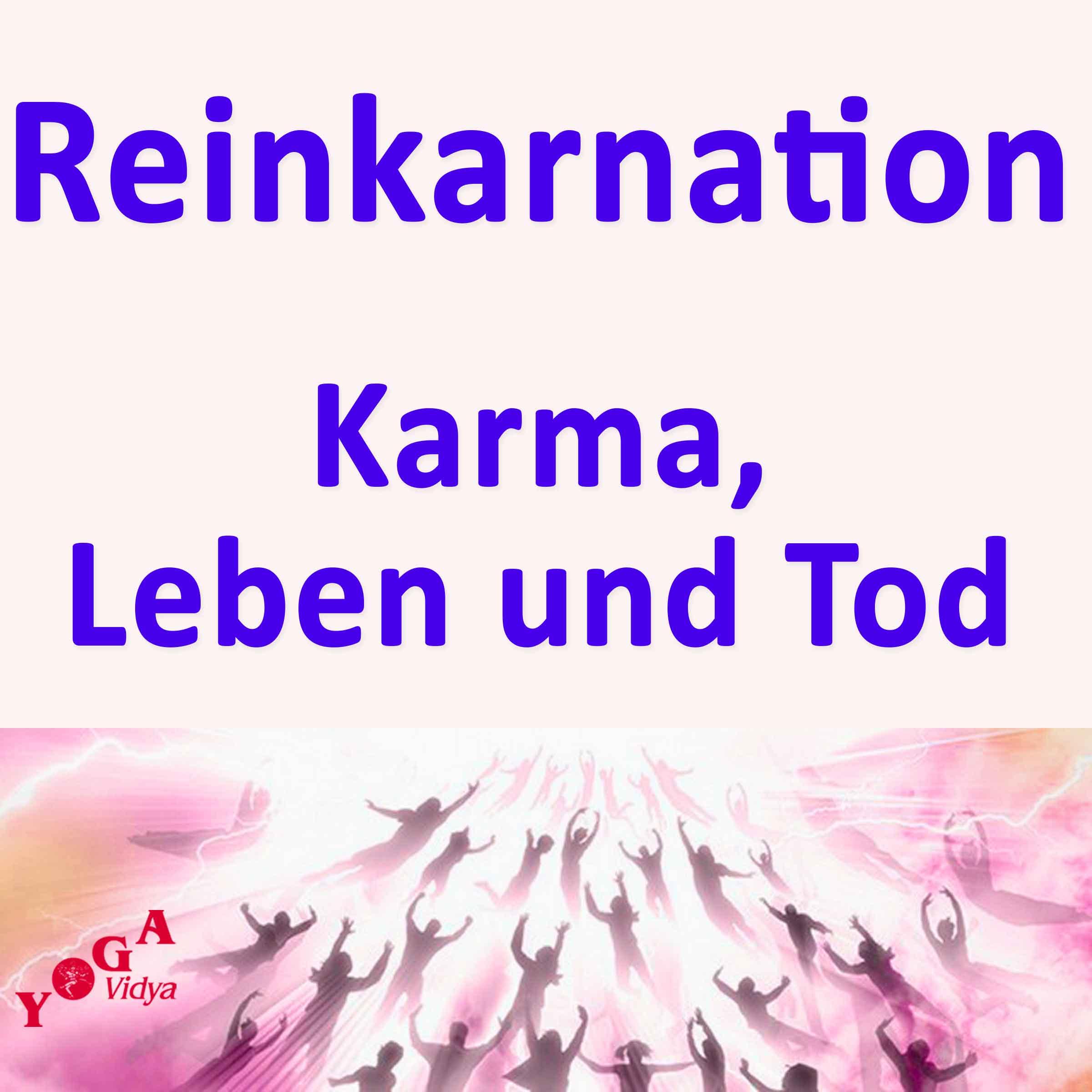 Reinkarnation, Karma, Leben und Tod