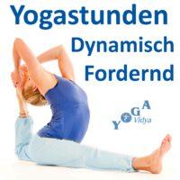 Yogastunden dynamsich fordernd