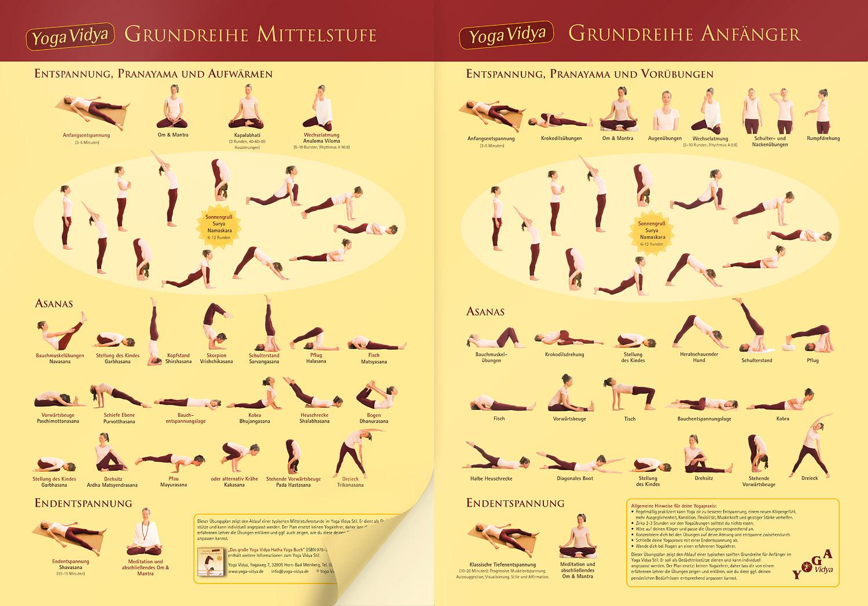 Neuer Yoga Ubungsplan Fur Anfanger Mittelstufe Yoga Vidya Blog Yoga Meditation Und Ayurveda