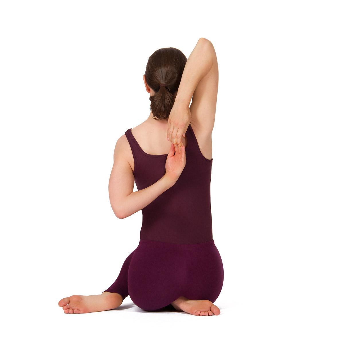Übungsreihe für kräftige und für entspannte Schultern