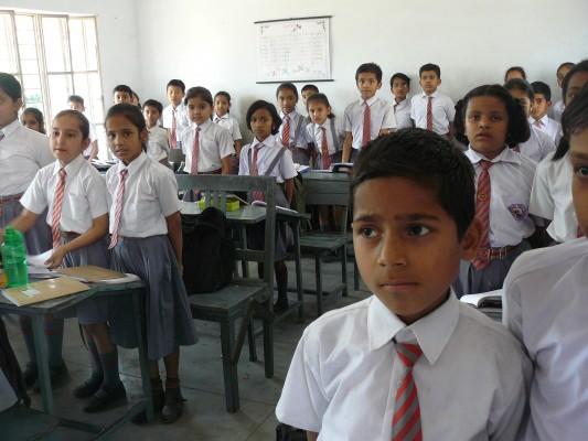 Indien Schule Kinder
