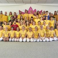 Gruppenbild der Yogaleh