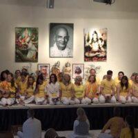 Yogalehrerausbildungsgruppe