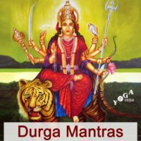 Cover Art des Durga Mantras - Chanting and Kirtan Podcast