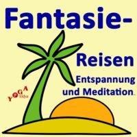 Cover Art des Fantasiereisen Anleitungen für Entspannung und Meditation Podcast