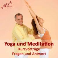 Cover Art des Yoga, Meditation und Spirituelles Leben - Tipps und Kurzvorträge Podcast