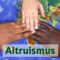 Cover Art des Altruismus und Hilfsbereitschaft Podcast