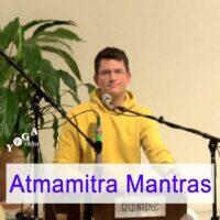 Cover Art des Kirtan und Mantras mit Atmamitra Podcast