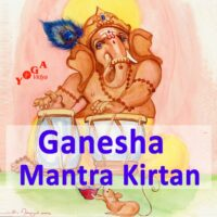 Cover Art des Ganesha Mantra and Kirtan Podcast