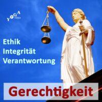 Cover Art des Gerechtigkeit, Integrität, Ethik, Verantwortung Podcast