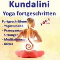 Cover Art des Fortgeschrittene Yogastunden und Pranayama Podcast