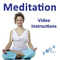 Cover Art des Meditation Video Instructions Podcast