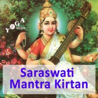 Cover Art des Sarawati Mantra Podcast.