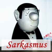 Cover Art des Sarkasmus Podcast