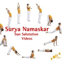 Cover Art des Surya Namaskar Podcast