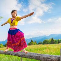 Tanzen und Yoga passen gut zusammen
