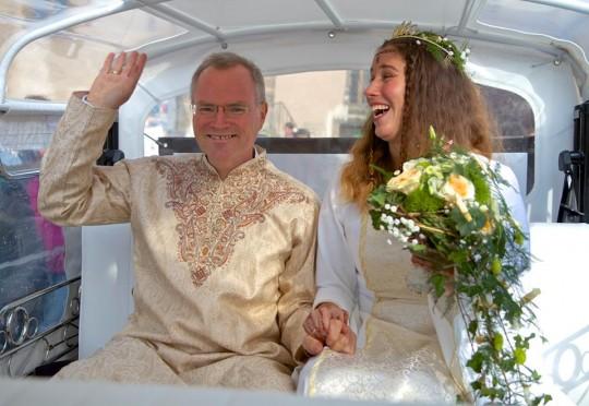 Hochzeit Sukadev und Satyadevi