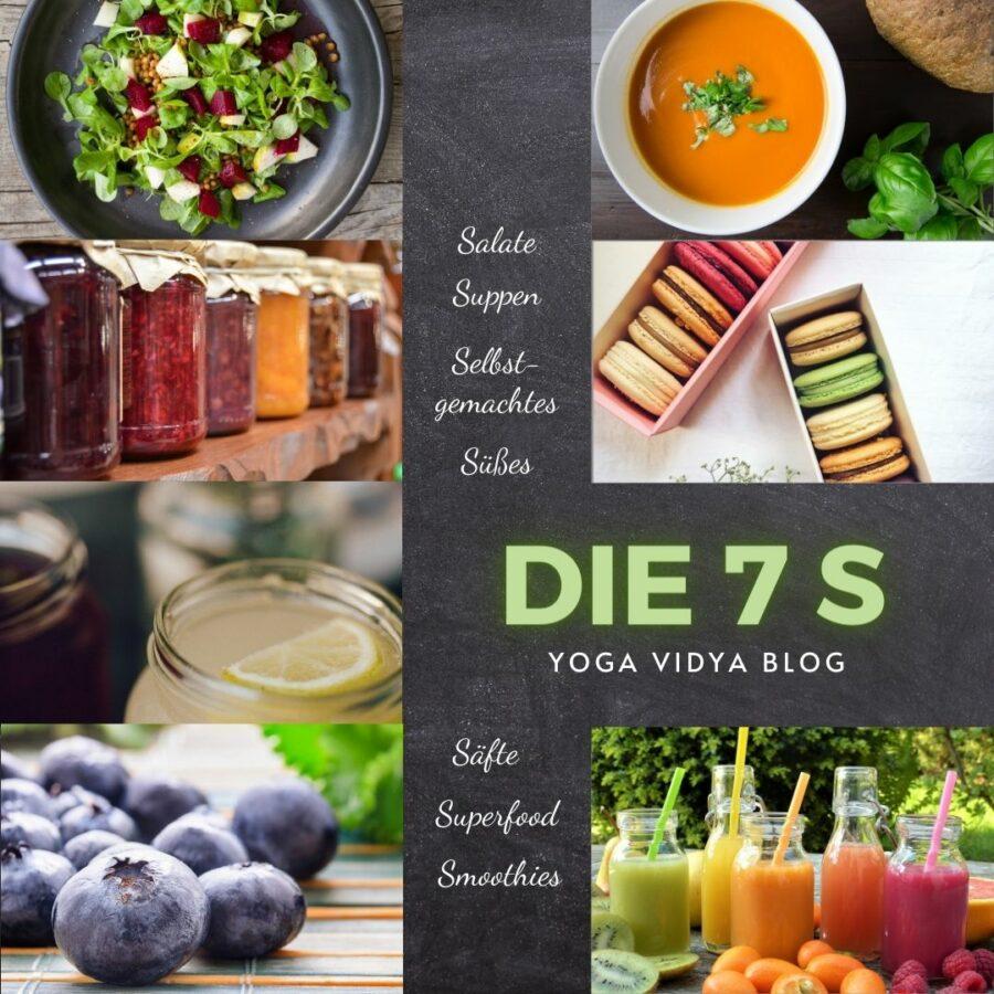 Die 7 S ist eine neue Blogreihe, die euch jeden Monat mit leckeren neuen Rezepten versorgt.