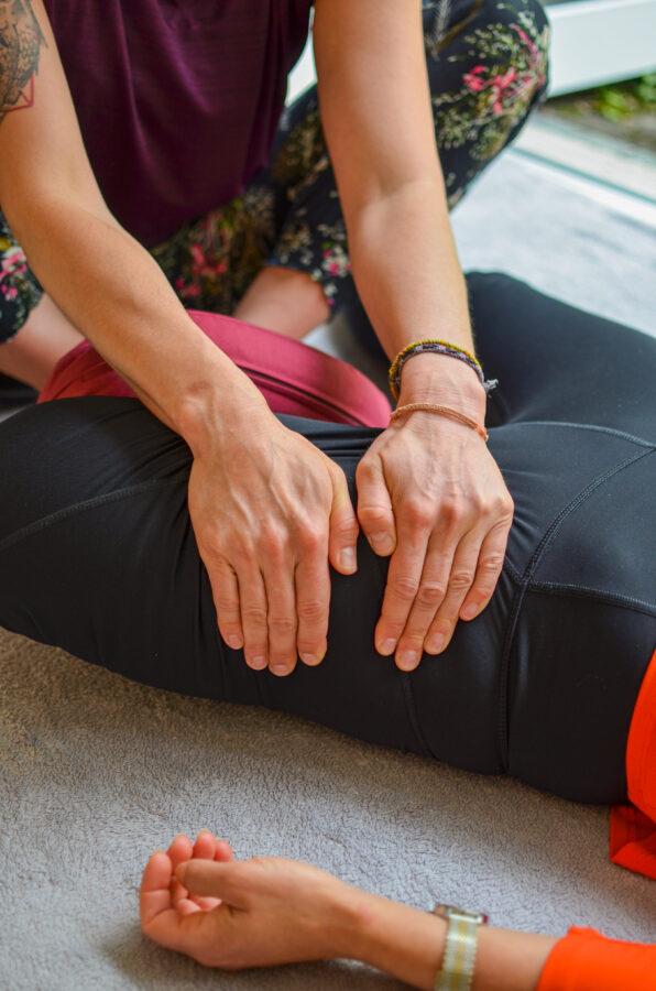 Thai Yoga Massage_Beine