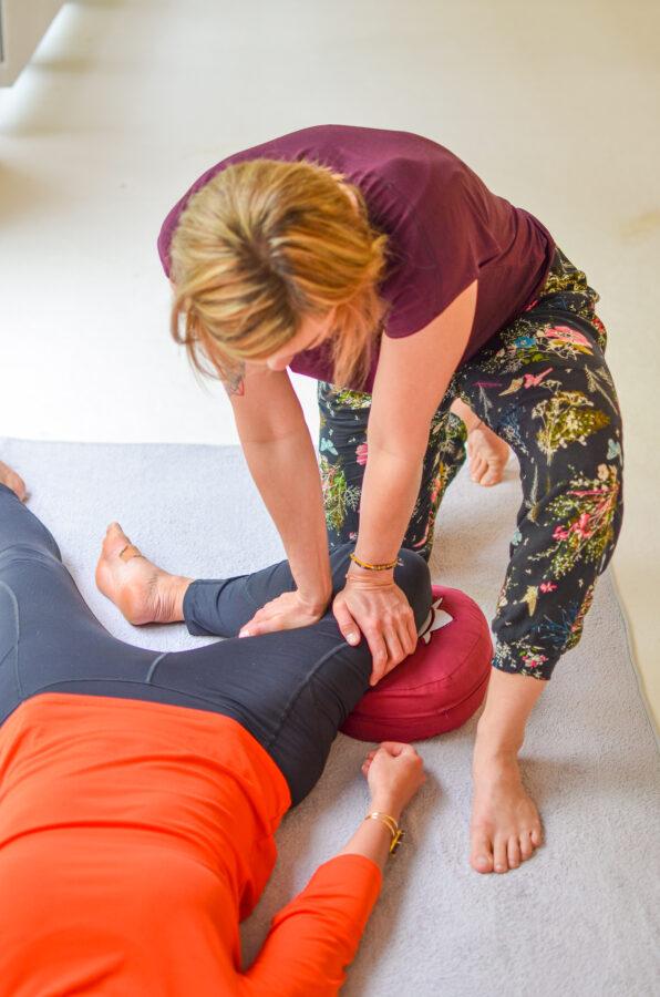 Thai Yoga Massage_Druckmassage