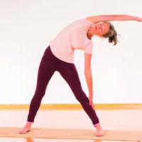Das Dreieck im klassischen Yoga Vidya Stil