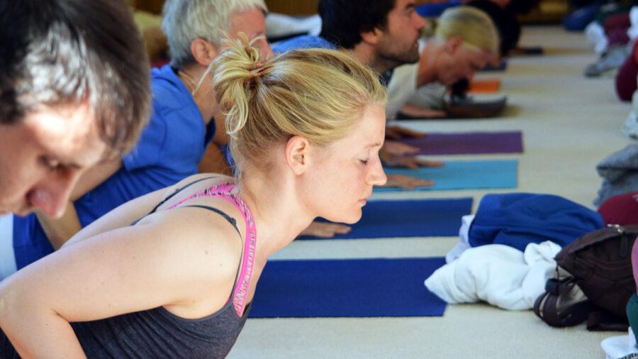 Hatha Yogastunde für Individualgäste
