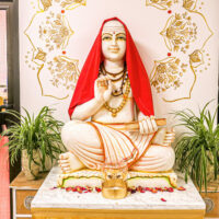 Shankaracharya Statue bei Yoga Vidya bad Meinberg