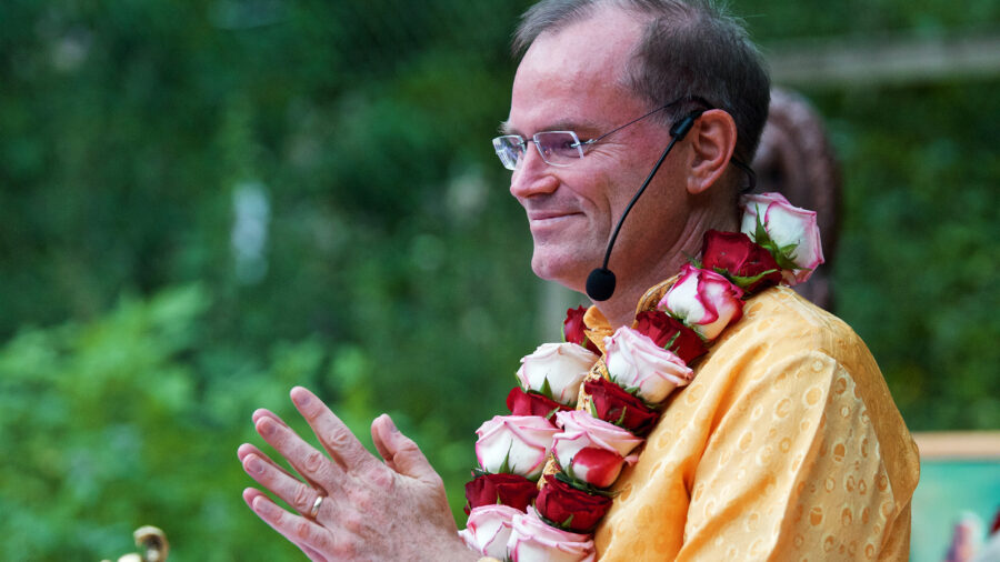Sukadev an der Guru Purnima
