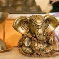 Ganesha Charurthi Feier zu Ehren des Gottes Ganesha