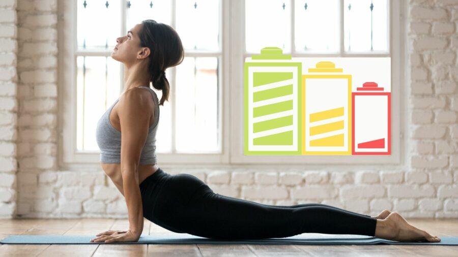 Yoga bei Erschöpfung